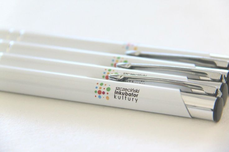 Długopisy z logo - druk UV
