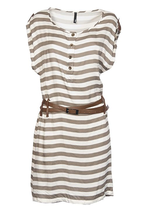 Very cute: Cute Dresses, Nautical Dress, Stripes I, Tabs Dresses, Grey Stripes, Leather Tabs, Nautical Leather, Casual Summer Dresses, Stripes Dresses