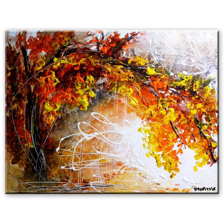 Acrylic painting technique beautiful texture powerful for Background acrylic painting techniques