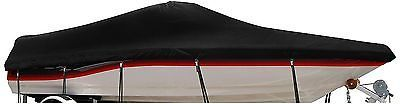 WINDSTORM by Eevelle Boat Covers for V Hull Runabout Black FREE SHIPPING
