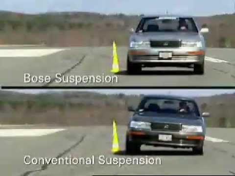 BOSE Active Suspension comparison