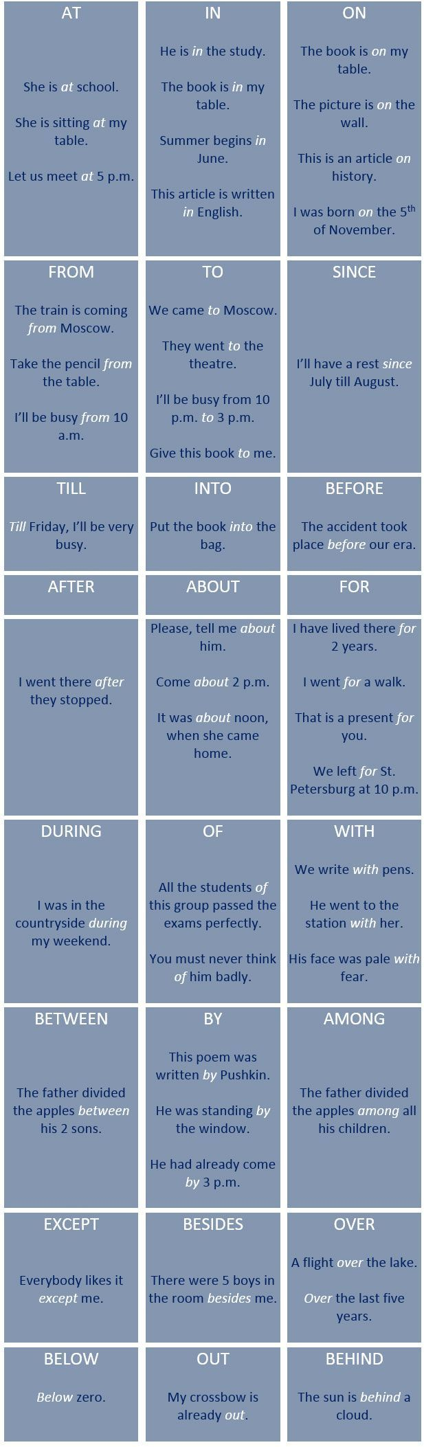 22 best englishh images on Pinterest | English grammar, English ...