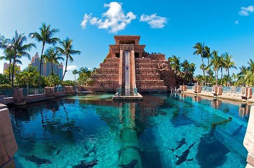 Underwater Water Slide - Atlantis Hotel - @Bahamas   Dream ...