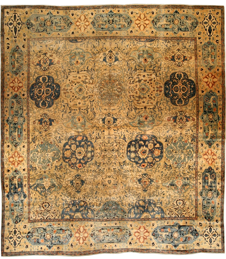 An Indian Rug BB4357   By Doris Leslie Blau. A Finely Woven Decorative Early