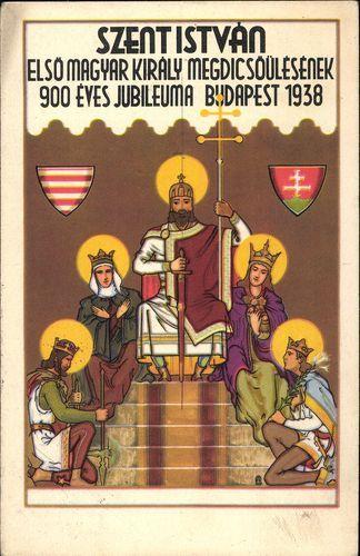 Szent István, első magyar király megdicsőülésének ...   Képcsarnok   Hungaricana