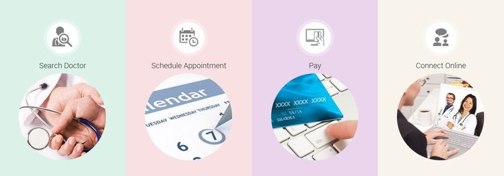 How it works?  Step 1: Search your doctor  Step 2: Schedule immediately (Instant) or as per your convenience  Step 3: Pay securely using credit or debit card  Step 4: Connect face to face through video