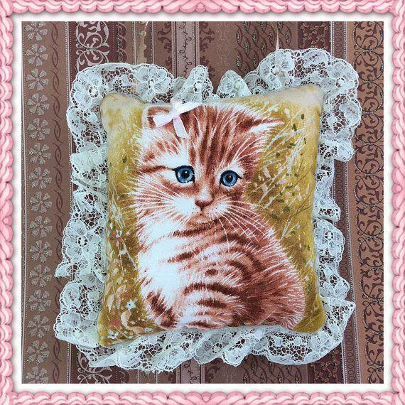 Deur Hanger kat / schattige kat hangers / kleine kat kussen / schattig kitten / decoratieve kussen / home accessoire / kleine zachte kussen / katten