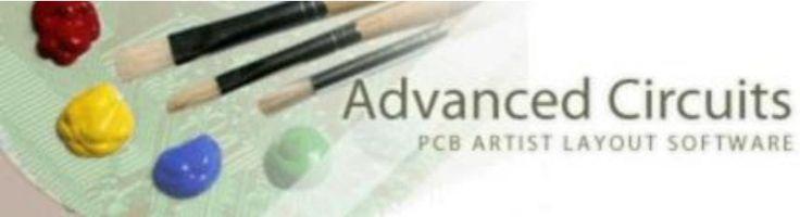 Kostenloser Download von PCB Artist – PCB Layout und Layout Design – www.te1.com.br / …   – Eletrônica
