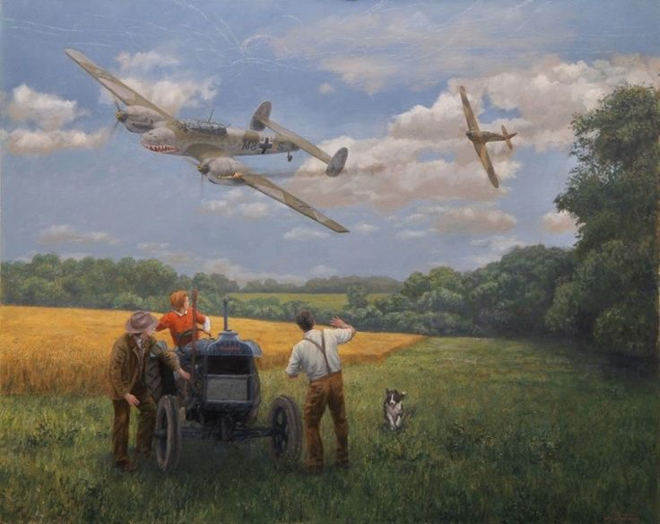 Image result for old man and two border collies painting
