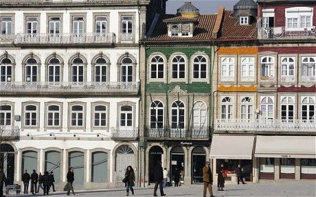 Guimarães, Portugal: a cultural city guide  Via The Telegraph | 26|02|2013  If any city can be described as adorable, then it is Guimarães. Its pedestrianised heart is a web of gently winding cobbled streets and washing-hung alleyways bejewelled with tiny bars and cute cafés. Those alleyways lead to pretty plazas that, rather satisfyingly, tend to be any shape but square, while its dinky, idiosyncratic shops, specialising in lacework, hats or birdcages, are a joy to discover.  #Portugal