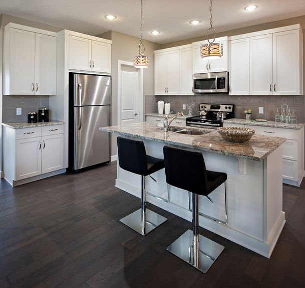 White kitchen cabinets | Kitchens | Pinterest | Kitchens ...