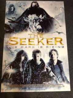 The Seeker: The Dark Is Rising Movie Poster (2007) Adventure | Drama | Fantasy  A boy's life is turned upside down when he learns that he is the last of a group of immortal warriors who have dedicated their lives to fighting the forces of the dark.  Director: David L. Cunningham Writers: John Hodge , Susan Cooper Stars: Alexander Ludwig, Ian McShane, Christopher Eccleston Plot Keywords: warrior | power | dog | cat | time travel