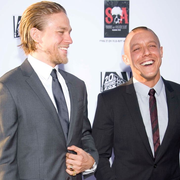 "Pin for Later: Sons of Anarchy's Theo Rossi Acknowledges Charlie Hunnam's ""Great Ass"""
