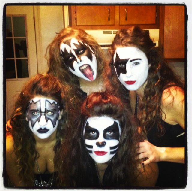 Kiss Without Their Makeup: Halloween Costume Ideas