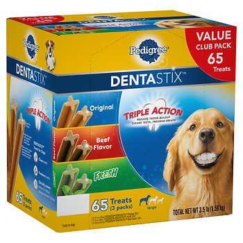 Pedigree Dentastix Variety Dog Treats 65 Count Dog Treats