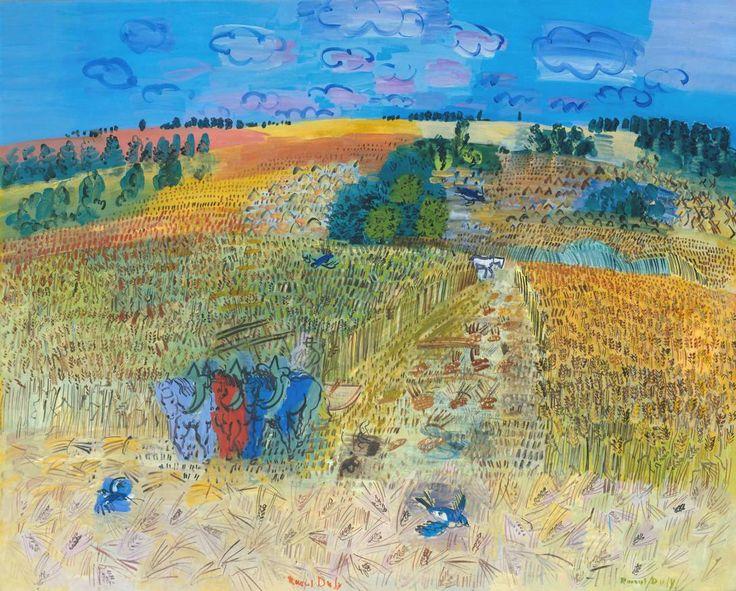 Raoul Dufy, 'The Wheatfield' 1929 Le Champ de blé Oil on canvas 1300 x 1620 mm