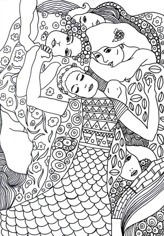 Free Art colouring pages.