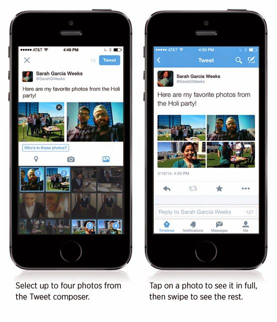 It's Here. Twitter Let You Add Multiple Photos in One Tweet.