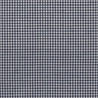 Navy Mini-Checks, materiale,