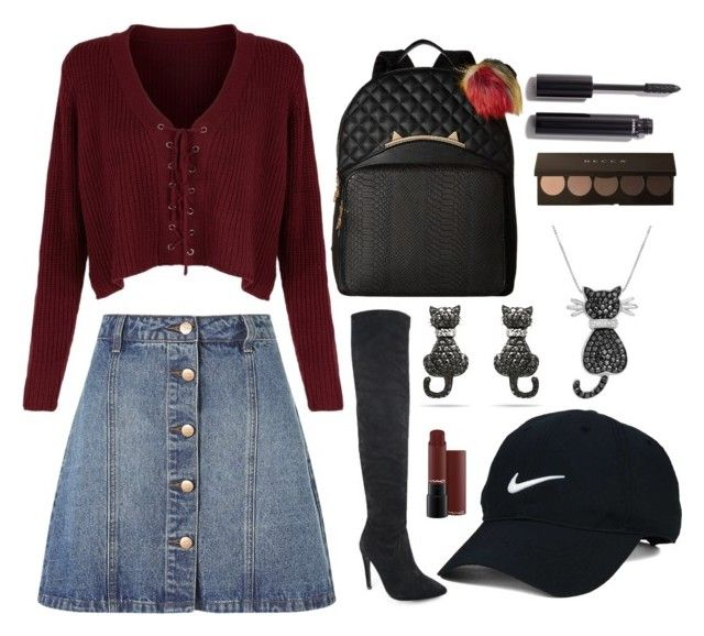 """""""""""Fall Out Girl"""" 😹👌🏻❣"""" by diyloving on Polyvore featuring Anita & Green, Betsey Johnson, Nike Golf, Amanda Rose Collection and Chanel"""