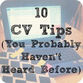 Katy Clouds: 10 CV Tips You Might Not Know