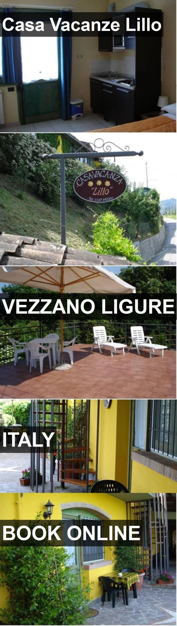 Hotel Casa Vacanze Lillo in Vezzano Ligure, Italy. For more information, photos, reviews and best prices please follow the link. #Italy #VezzanoLigure #travel #vacation #hotel