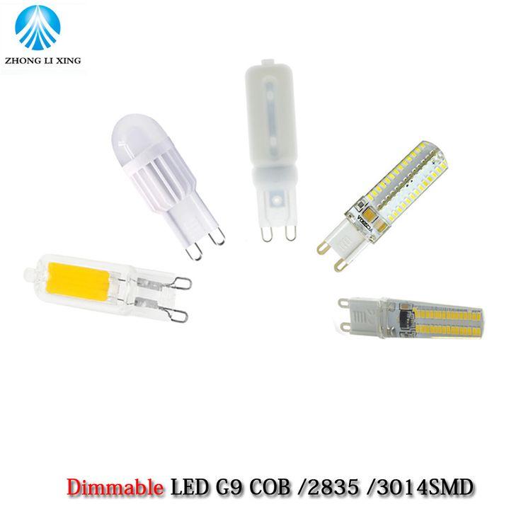 1X LED G9 Lamp Bulb Dimming 220V 5W 7W 9W 12W COB SMD 2835 SMD 3014 SMD LED Lighting Lights replace Halogen Spotlight Chandelier #Affiliate