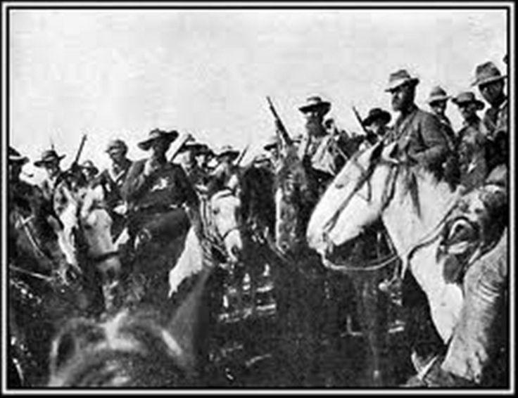 Boer War -- A Commando under General de Wet