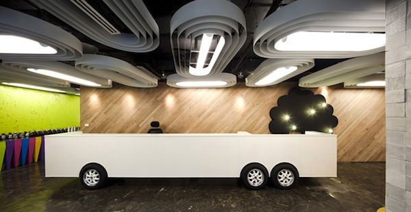 Creative Office Space | Interior Design.  Saatchi & Saatchi headquarters in Bangkok, Thailand.