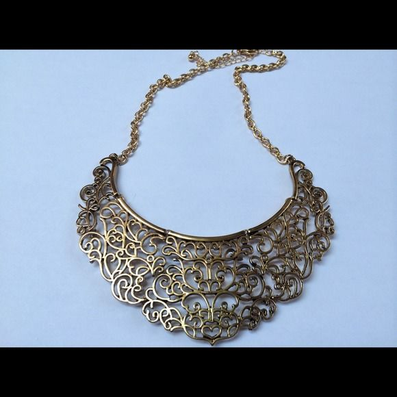 """Selling this """"Statement necklace"""" in my Poshmark closet! My username is: ckitig. #shopmycloset #poshmark #fashion #shopping #style #forsale #Accessories"""