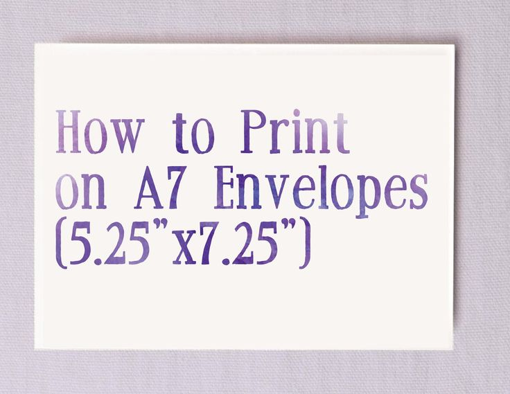 Best 25+ Printing on envelopes ideas on Pinterest Envelope - sample a7 envelope template