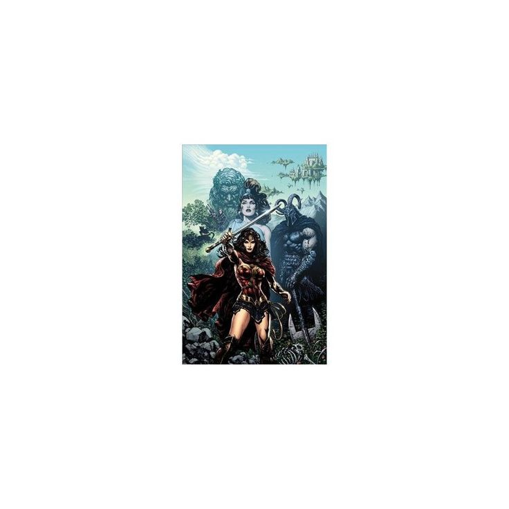 Wonder Woman - the Rebirth (Deluxe) (Hardcover) (Greg Rucka)