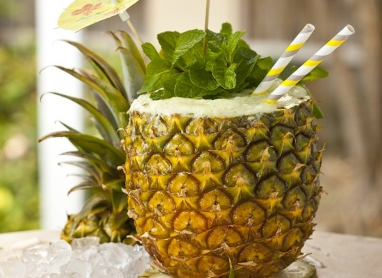 Pineapple cocktail!