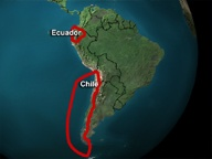 The Power of Place, unit 9, Latin America: The Dynamic Pacific Rim  The first case study, Ecuador: Orange Alert, examines how humans interpret the dangers of their environment. It chronicles the science and sociology of monitoring volcanic activity in the Andes.