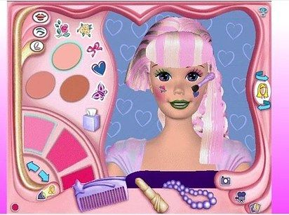 Barbie Magic Hair Styler | 21 Barbie PC Games That'll Give You Intense Nostalgia