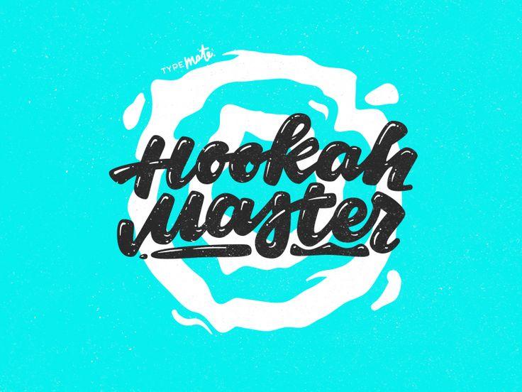 Hookah master by Typemate