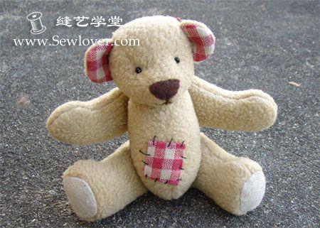 Teddy bear making tutorials - SewLover, seam Arts Academy | Cloth tutorial | fabric pattern