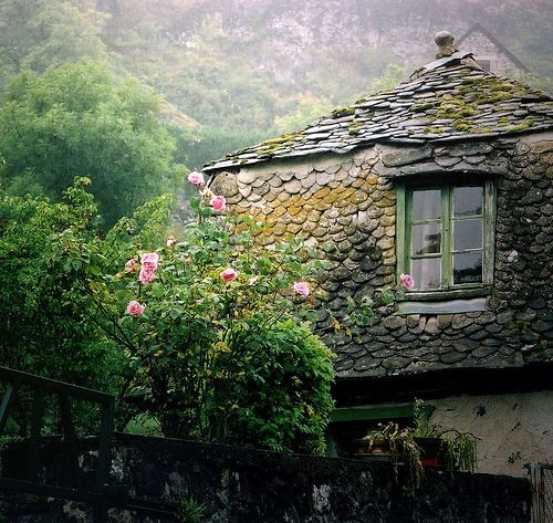 country house in france: Rose, Houses, Window, Dream, Beautiful, Cottages, Places, Homes, Garden