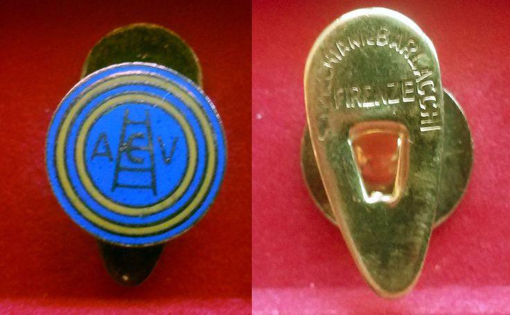 AC VERONA (Italy) distintivo con piedino buttonhole calcio football soccer