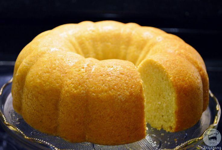 Bolo Fofinho de Limão | Veganana