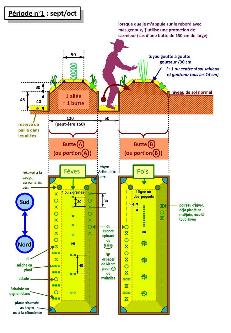 Les différentes techniques de culture pour un potager en permaculture - PermacultureLe chant des cerises - Expériences et conception en permaculture