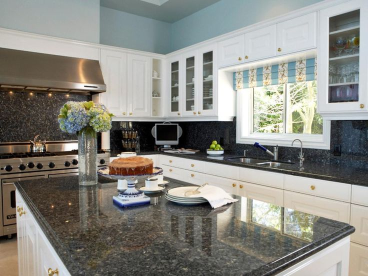 White Kitchens With Grey Granite   Google Search Part 70