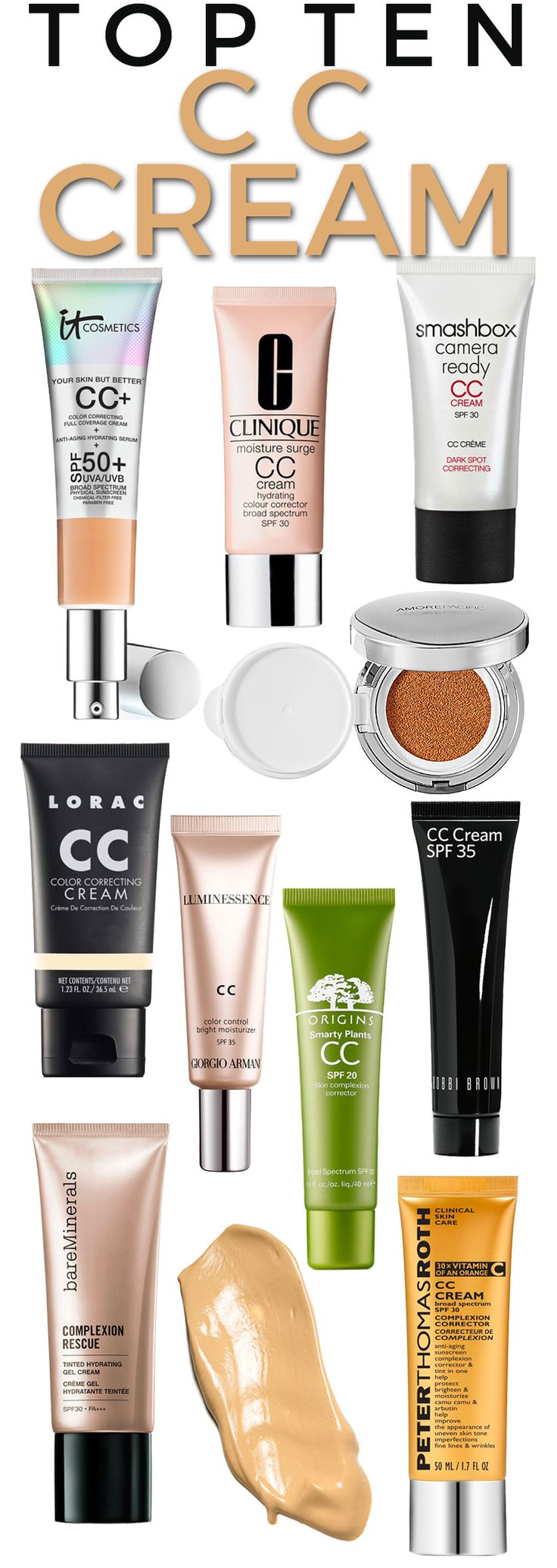Top 10 CC Creams