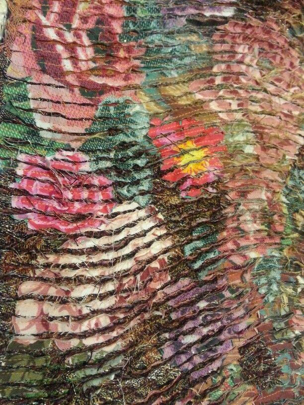 Slashing on Cotton by Beata Jarmolowska