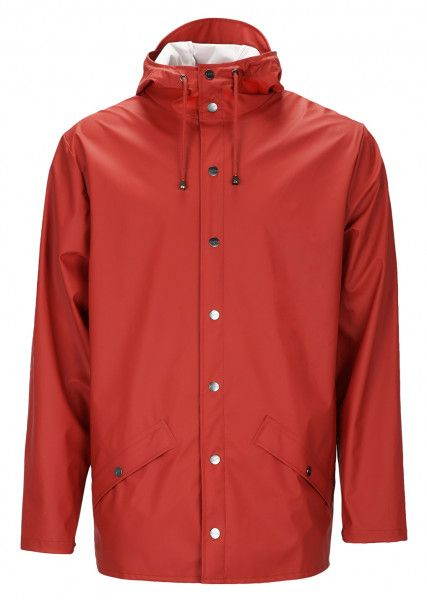 Rains Jacke scarlet
