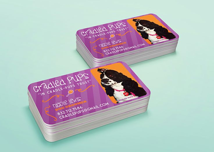 Cradle pups business card designed printed by alphagraphics sugar cradle pups business card designed printed by alphagraphics sugar land business cards pinterest sugar land printed and business reheart Images