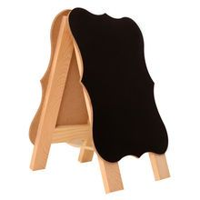 Wooden Parenthesis Chalkboard Easel by ArtMinds�
