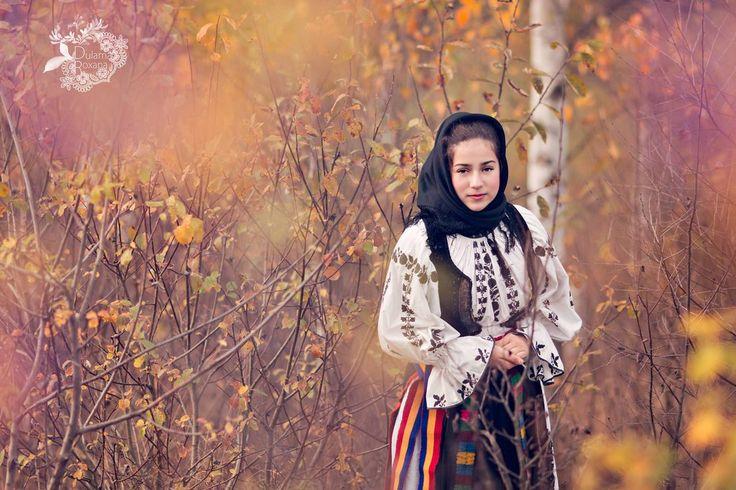 Romanian girl in nature by damaianty.deviantart.com on @DeviantArt