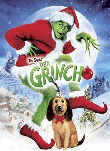 *FILM*Der Grinch, ein grünes Wesen mit einem Herzen aus Stein, wohnt in den Bergen hoch über dem idyllischen Städtchen Whoville. Übellaunig und verschlagen haßt er eine Sache ganz besonders: fröhliche Menschen, zum Beispiel solche, die sich auf Weihnachten freuen. Also faßt er einen besonders perfiden Plan - er will das Christfest einfach stehlen.