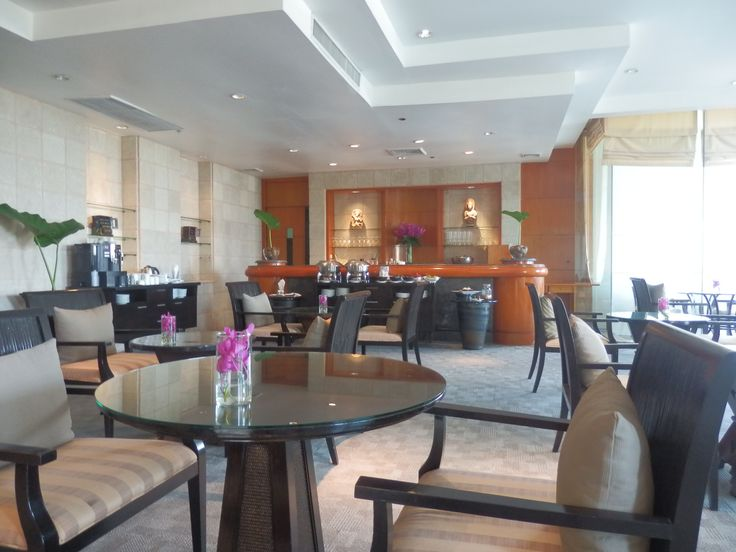 Executive Lounge at the Hilton Hua Hin Resort, Thailand